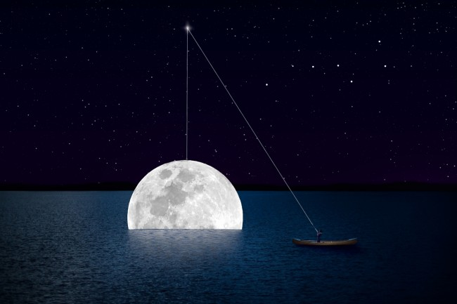Fishing for the moon--Jenna Martin