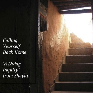 Cover ebooklet A Living Inquiry from Shayla Wright