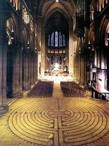 labyrinth at Chartres