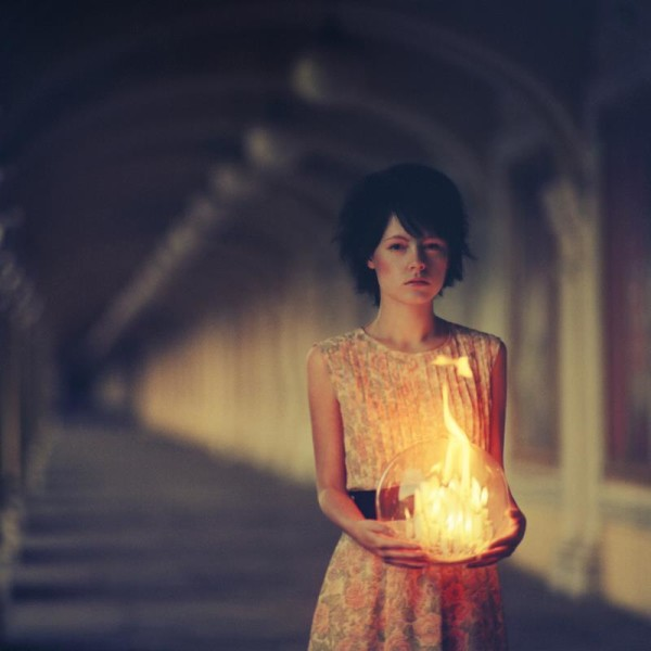 Girl with Light-Oleg Oprisco